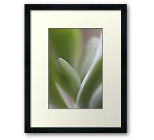 Flow  - JUSTART © Framed Print
