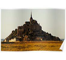 Mont Saint Michel, France (The Marvel) Poster