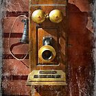Steampunk - Phone Phace  by Mike  Savad