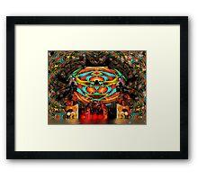 Return of The Pumpkin King Framed Print