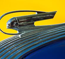 "1936 Pontiac ""Chief"" Hood Ornament by Jill Reger"