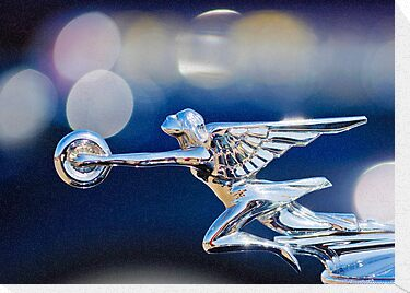 "1932 Packard 12 ""Goddess of Speed"" Hood Ornament  by Jill Reger"