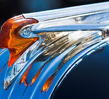 "1950 Pontiac Silver Streak ""Chief"" Hood Ornament by Jill Reger"