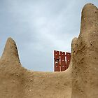 Door of The Great Mosque, Djenné, Mali by Valentina Silva