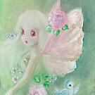 The Sweet Little Faerie by AngelArtiste