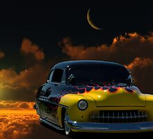 "1950 Mercury ""The High Flyer"" by TeeMack"