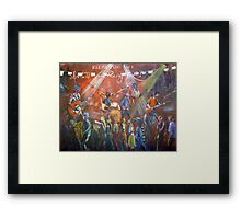 Relay for Life Maleny Kevin Borich Framed Print