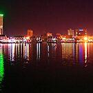Galveston By Night by Michael Reimann
