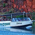 Dusk, Tour boat, Argyle River, Kimberley. WA by johnrf