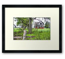 Grand-Dads Place Framed Print