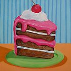 Cake slice 1 by nancy salamouny