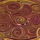 Trippy Swirls by Jason Scott