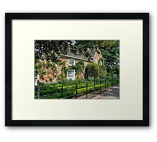Shandy Hall Framed Print