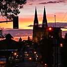 Cathedral Street Sunrise by Ken McElroy