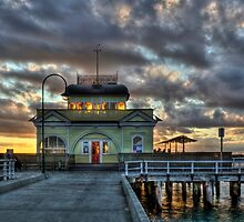 St Kilda Pier Kiosk HDR by Scott Sheehan