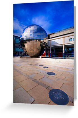 At Bristol Sphere by Adrian Evans