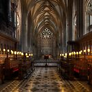 Cathedral Interior by Adrian Evans