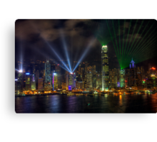 Symphony Of Lights Canvas Print