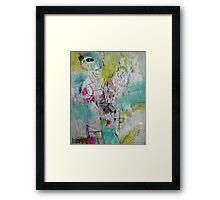 i like chairs and cacti Framed Print