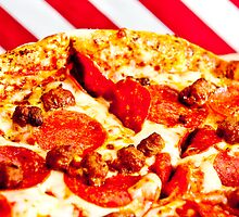 Pizza flag 2 by Nelson Charette