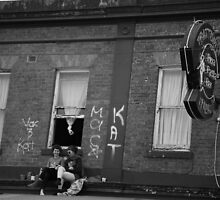 upstairs. nicholson st, fitzroy, melbourne by tim buckley   bodhiimages