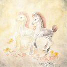 Blissful Fillies by AngelArtiste