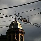 intersection. fitzroy, melbourne. by tim buckley | bodhiimages photography