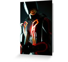Tron Sentry  Greeting Card
