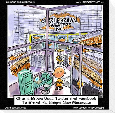 Charlie Brown Decides 2 Brand Image by Londons Times Cartoons by Rick  London