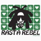 RASTA REBEL POT by Hendrie Schipper