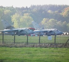 Tornados Ready for take off by Andy Jordan