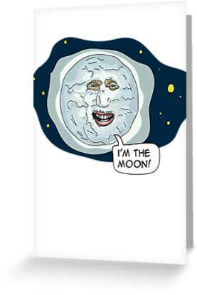 The Mighty Boosh - I'm the moon by bleedart