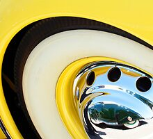 Cadillac Reflection in a Cord Rim by Jill Reger