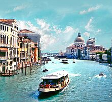*The Grand Canal Venice* by Colin Metcalf