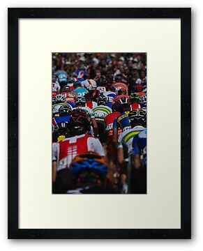 Cadel Evans by Steven Weeks