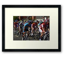 Cadel Evans Framed Print