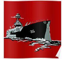 Love is a Battleship Poster