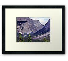 Bow River Valley Framed Print
