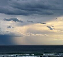 Storm over the Southern Ocean , Lakes Entrance Victoria by Virginia McGowan
