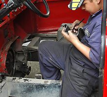 Young Mechanic by PICS-for-HIRE
