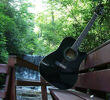 Acoustic falls - Franklin, North Carolina by nataliedelnegro
