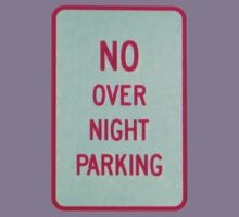 NO overnight PARKING * Kids Clothes
