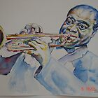 louie armstrong by mary saifelden