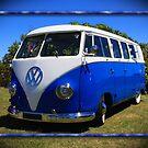1957 VW Microbus by Keith Hawley