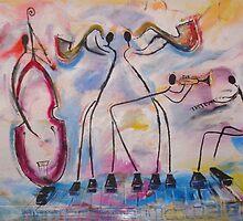 jazzy stick men by mary saifelden