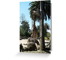 African Friends Greeting Card