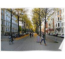 Another Streetview, Gothenburg Poster
