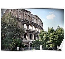 ROME - Colosseum at daylight # 1 - 10th October 2010 - Poster