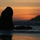 Bandon Sunset by Dave Davis