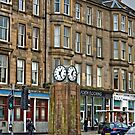 Canonmills Clock by Tom Gomez